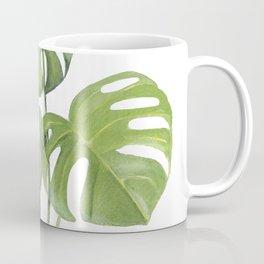 Monstera deliciosa 3 Leaves Coffee Mug
