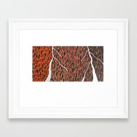 waterfall Framed Art Prints featuring Waterfall by Sandyshow