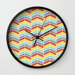 Arrow Chevron Wall Clock