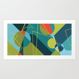 Morse Frequencies Art Print