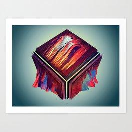 #Transitions XXXIV - GATELESS  Art Print