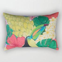 Luis the Tucan Rectangular Pillow