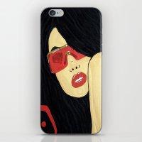 aaliyah iPhone & iPod Skins featuring AAliyah by TheArtGoon