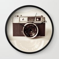 film Wall Clocks featuring Camera by Tuky Waingan