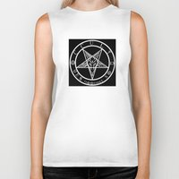 occult Biker Tanks featuring OCCULT 13 BY EVERETTE HARTSOE by House of Hartsoe