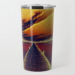 Fierce Sunset Travel Mug