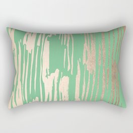 Bamboo Bronze Gold 1 Rectangular Pillow