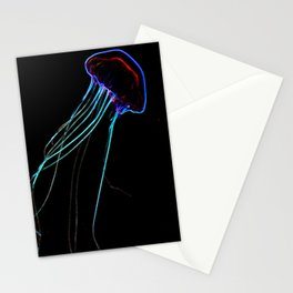 Flow In The Dark II Stationery Cards