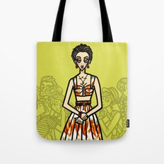 the power of 5. three Tote Bag