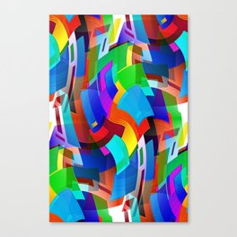 Don't Be Such A Square 2 Canvas Print