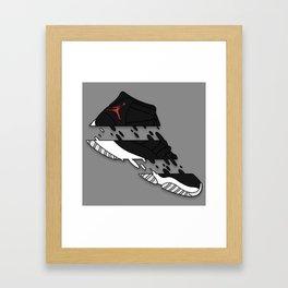 """11 """" 72-10 """" Framed Art Print"""