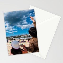 Bondi Beach, Sydney (Festival of the Winds) Stationery Cards