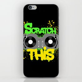 Scratch This iPhone Skin