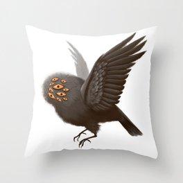Little Bird, Little Bird Throw Pillow