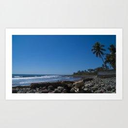 San Blas Beach Art Print