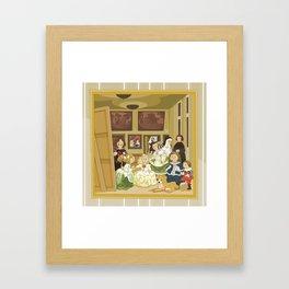 The Maids of Honour by Velázquez (Las Meninas)  Framed Art Print