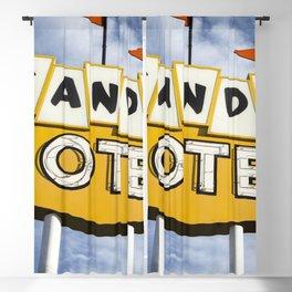 Sands Motel Blackout Curtain