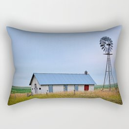 Nebraska Prairie Rectangular Pillow