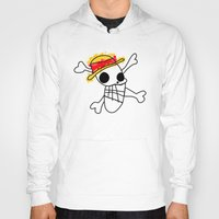 luffy Hoodies featuring Luffy Laboon by rKrovs