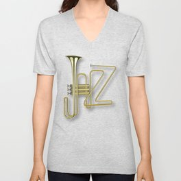 Virtuous Jazz Unisex V-Neck
