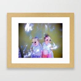 Sarah/Emily/Double   Framed Art Print