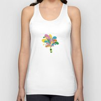 champagne Tank Tops featuring Champagne by Lindella