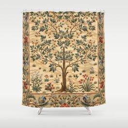 """William Morris """"Tree of life"""" 3. Shower Curtain"""