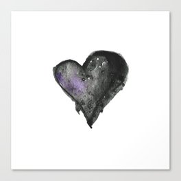 Dark Heart Canvas Print