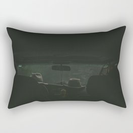 Misty Evening Rectangular Pillow