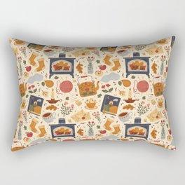 Stay Cozy Rectangular Pillow