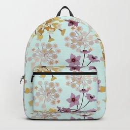 Hoya Tropical Flower - Wax Plant Flower - Porcelain Flower - Hoya Carnosa Flower Pattern Backpack