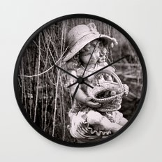 Under the Willow Tree II Wall Clock
