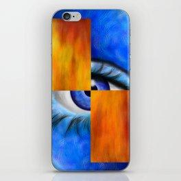Ersebiossa V1 - hidden eye iPhone Skin