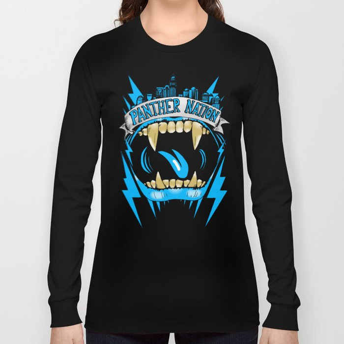 """Panther Nation """"Pride"""" Long Sleeve T-shirt"""