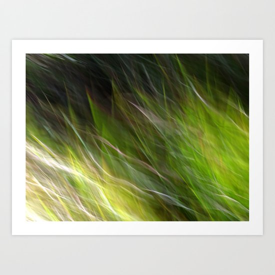 Watching the Wind Blow #2 Art Print