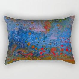 Melting Rainbow Rectangular Pillow