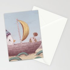 Drummer Bird - Sailing Stationery Cards