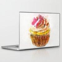 cupcake Laptop & iPad Skins featuring Cupcake by Manuela Mishkova