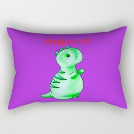 Terrifyingly Cute Rectangular Pillow