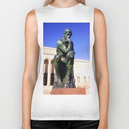 """Auguste Rodin's ....""""The Thinker"""" Biker Tank"""