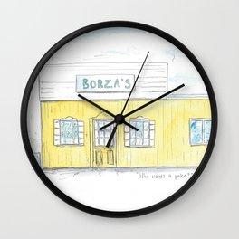 Borza's Ice-cream, Millisle Wall Clock