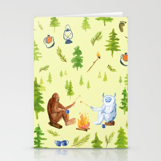 Camping Christmas Cards.Annual Camping Trip Stationery Cards By Ghouk