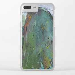 The one who does not submit to the waves Clear iPhone Case