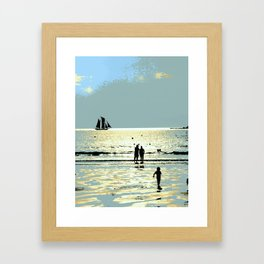Shoreline Dreams Framed Art Print
