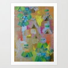 Abstract 64 Art Print