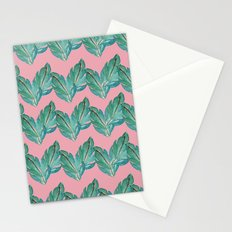 Watercolor Leaves Stationery Cards