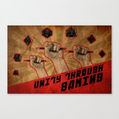 Unity Through Gaming! Canvas Print