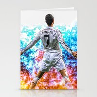 ronaldo Stationery Cards featuring Ronaldo by Cr7izbest