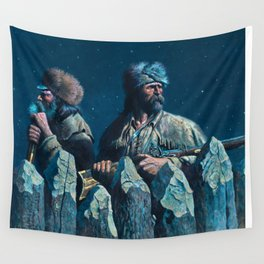 The Fires of Santa Ana Wall Tapestry