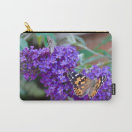 Two Painted Ladies Carry-All Pouch
